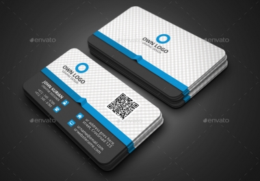 make a unique business card for you in 1day