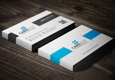design professional and clean business card for you