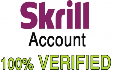 give you full verified skrill account