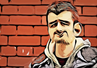 draw vector style caricature from your photo
