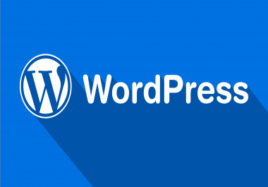 build a full featured Wordpress website with theme customization