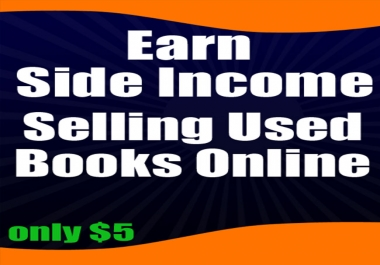 show you how to earn a side income selling used books online