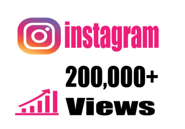 add Fast 200,000+ Instagram video views