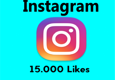 add stable 15,000 Instagram photo/post likes in 24 hours