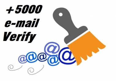 perfectly clean and verify 5k email list fast and accurate