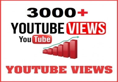 Add Real 3000 High Retention Youtube Views