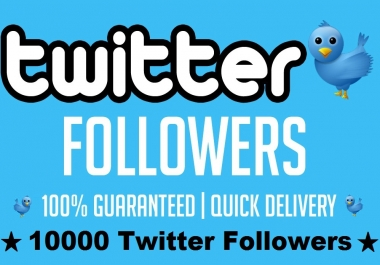 Add 10000 Twitter Followers Permanent and High Quality