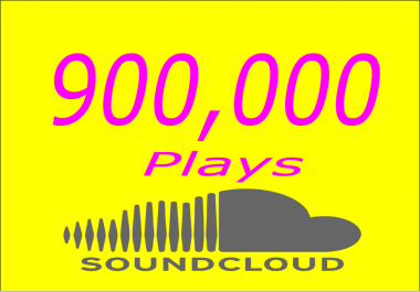 Promote your Soundcloud Music 900k Plays