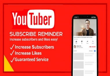 Add 50 YouTube Subscribe or 50 Likes Very Fast Service