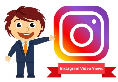 Add Instant 100000 Instagram Video Views Super Fast Delivery