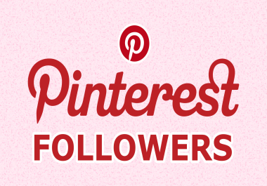 Add 200+ permanent Pinterest followers to your account to rocket SEO
