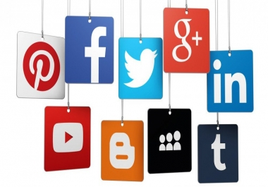 manage your social media for 2 days and make you popular