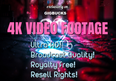 send 350 Royalty-free Ultra HD Video Footage