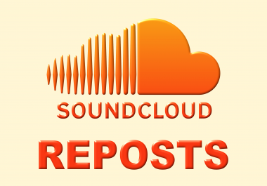 Provide 200+ Real Soundcloud Reposts to your awesome music