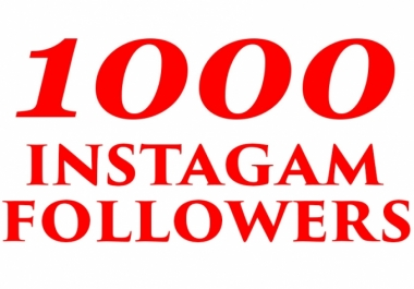 add real 1,000+ Instagram Quality Followers