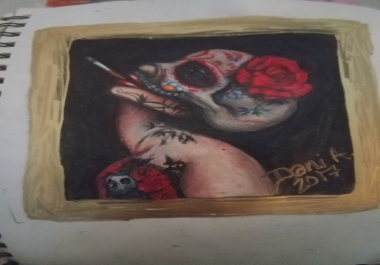 Draw anything you want tealistic portraits caricatures tattoo ideas