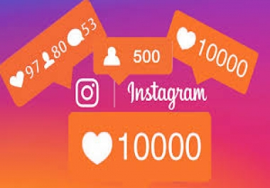 Provide 10000 Instagram Likes to your Post in Instagram, you can split the order in 5 post maximum