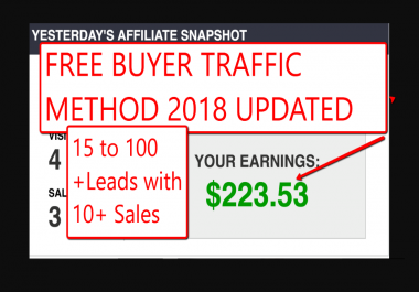 teach you how to unlimited free traffic on demand to your affiliate offers