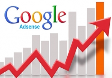 Give you 50,000Real/Human/Unique Visitors for Google adsense.