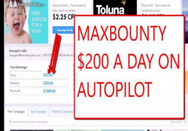 teach fast ways to make 200 USD per day with cpa method