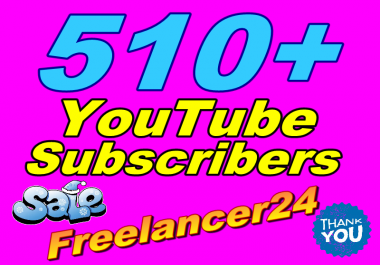 Add real permanent 120+ YouTube subscribers on your channel