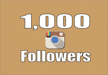 add 1,000+ Instagram Quality Followers