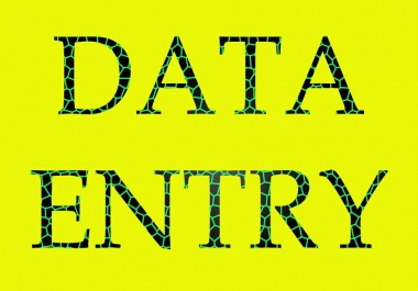 do data entry,product data entry and data entry job