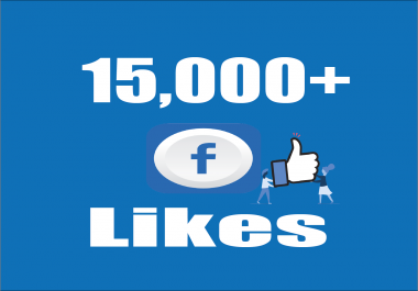 Give you Instant Fast 15,000 Facebook Photo,Post Likes