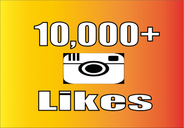 Add 10,000 Instagram Photo/Post Likes, 100% non drop