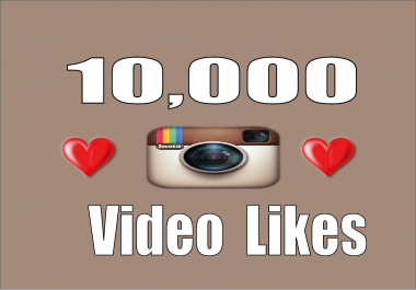 add stable 10,000 Instagram Video likes in 24 hours