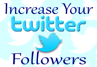 Do Promotion To Increase Organically Permanent 200+ Twitter Followers
