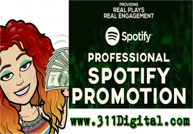 Increase Your Spotify Music STREAMS On Singles Or Playlists FAST