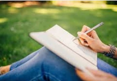 Write you beautiful poems and amazing short stories