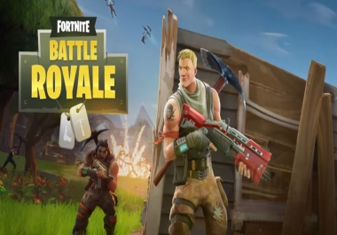 Play Fortnite With You and Get Wins. (PS4)