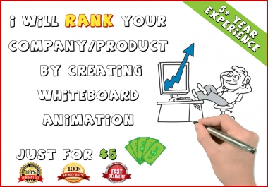 do whiteboard animation & 2d explainer video
