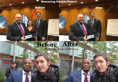 remove person or any object realistically in photoshop photo editing retouching image