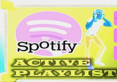 Add your song to a huge spotify playlist next to the top names in the business.