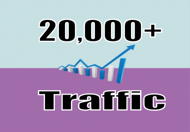 Give you 20,000 Real/Human/Unique Visitors for Google adsense