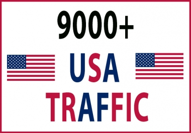 drive 9000+ USA TRAFFIC to your site or page
