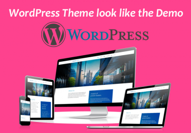 Make Your Wordpress Theme Look Like The Demo