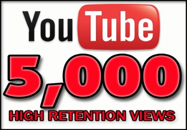 provide you high quality 5,000+ YouTube Video views
