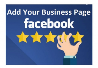 promote 100 Facebook five star rating and review on your business fan page