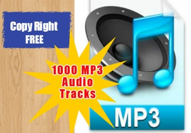 Give You 200 Royalty Free Mp3 Audio Tracks