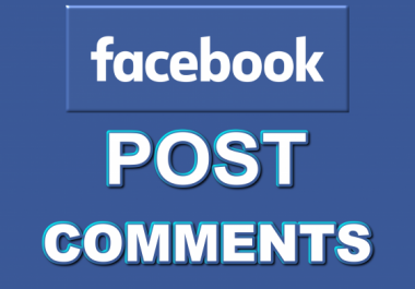 Provide 100+ Facebook Auto Comments to your post, pic or video