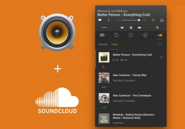 manually provide 100 soundcloud custom comments to your music