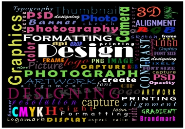 do Any type of Designing & Editing
