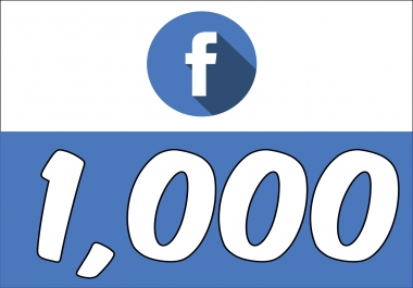 Add 1,000 Fan Page Likes (INSTANT) Super Fast