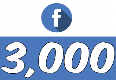 Add 3,000 Fan Page Likes (INSTANT) Super Fast