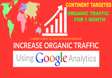 PROVIDE CONTINENT TARGET ORGANIC TRAFFIC KEYWORD TARGETED