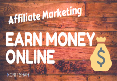 teach you how to make money with affiliate marketing